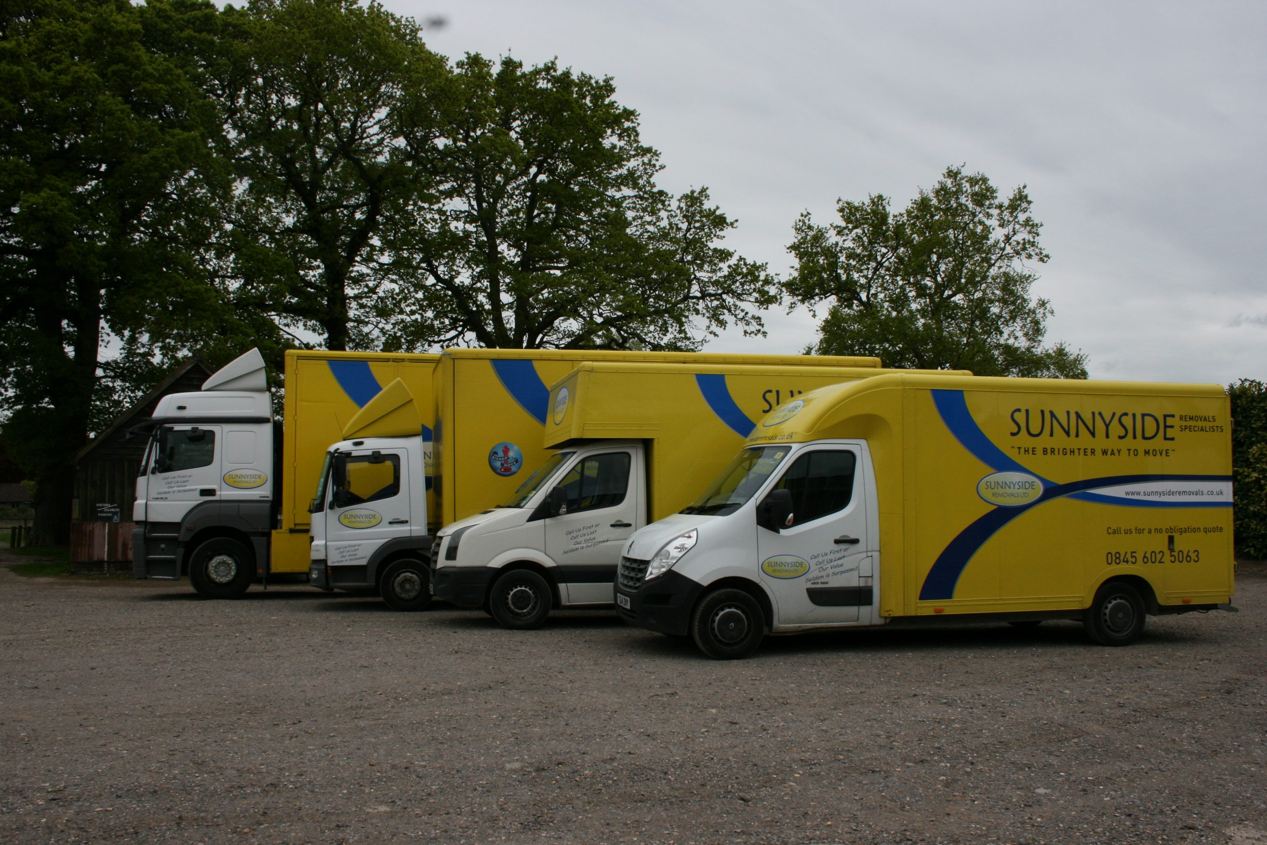 our complete removals vehicle